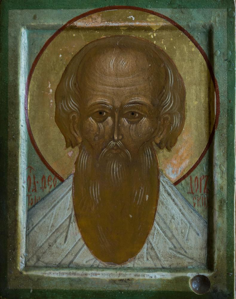 Икона Святого старца Федора Томского-2